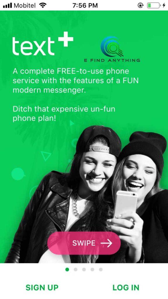 text plus app