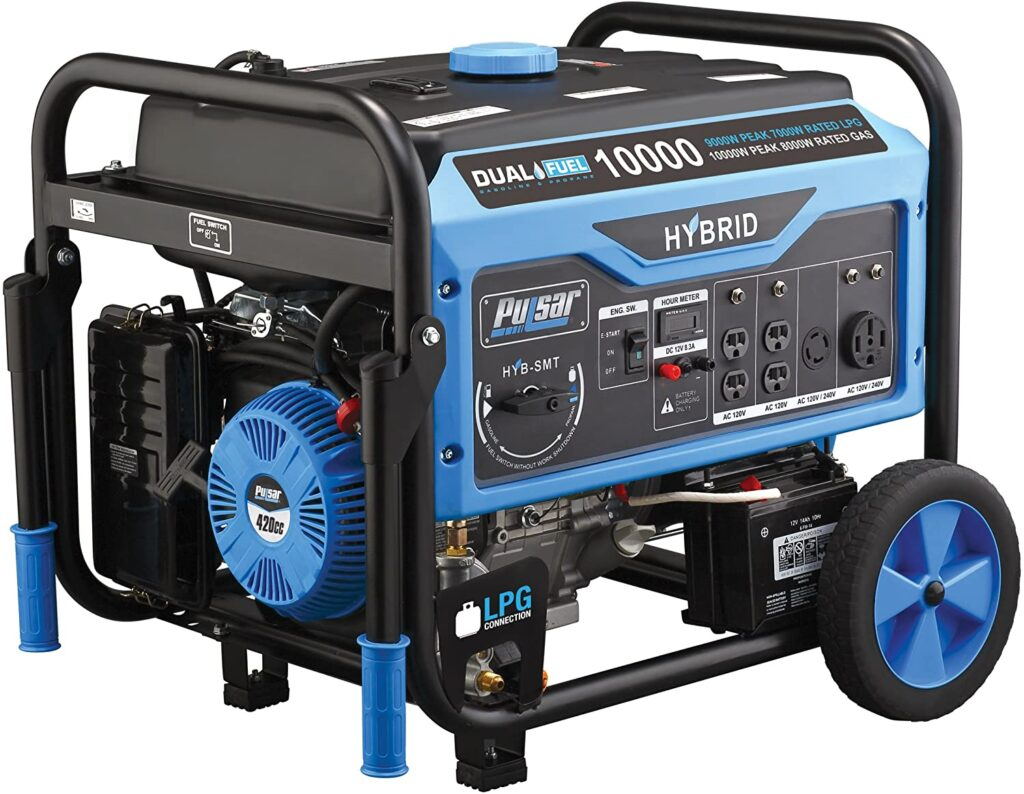 Pulsar PG10000B16 Dual Fuel Generator